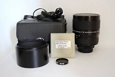 HANIMEX 500 MM 1:8.0 MIRROR TELEPHOTO LENS M42 FIT /T2 MOUNT ADAP TO DSLR(USED)