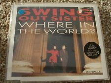 SWING OUT SISTER  WHERE IN THE WORLD  CD SINGLE   SWICD 7