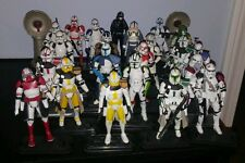 Star Wars Clone Trooper lot of 22 Commander Bly Doom Captain Rex
