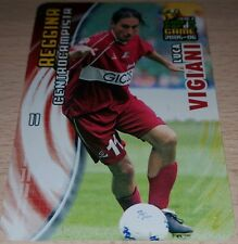 CARD CALCIATORI PANINI 2005-06 REGGINA VIGIANI CALCIO FOOTBALL SOCCER ALBUM