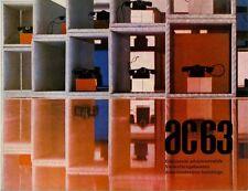 ARCHITETTURA AC 63 LUGLIO 1971 REVUE INTERNATIONALE D'AMIANTE CIMENT