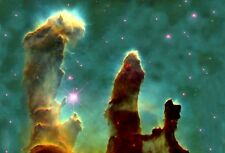 A1 PILLARS OF CREATION NEBULA SPACE INSPIRATIONAL ART PIC PHOTO PRINT POSTER