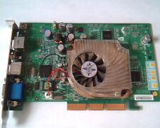 AGP card MSI Nvidia P600 G4MX460-VT AV-out VGA S-out S-in Video N1996 MX460
