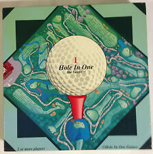 Hole in One the Game / Golf Trivia Board Game 1998 Complete & Excellent