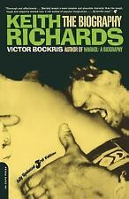 Keith Richards The Biography by Victor Bockris 2003, Paperback Revised Musician