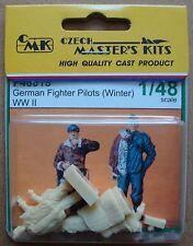 CMK F48018 WWII German Fighter Pilots (Winter) in 1:48