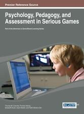 Psychology, Pedagogy, and Assessment in Serious Games (2013, Hardcover)
