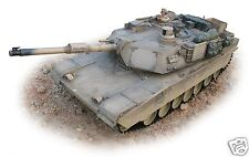 Hobby Engine Model 0717 / 717 Premium Label M1A2 Abrams Tank R/C 2.4ghz RTR 1:16