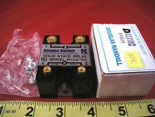 Douglas Randall D12ANC Solid State Relay Output 120vac 12a 12 amp Input 3-32vdc