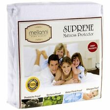 Premium Mattress Waterproof Hypoallergenic Cover Cal King Size Protector Bed Bug