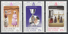 Solomon Islands Nr. 331-333** Silver Jubilee of Queen Elizabeth II.