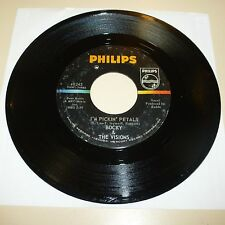 GARAGE BAND 45 RPM RECORD - BOCKY & THE VISIONS - PHILLIPS 40242 - DRILLED