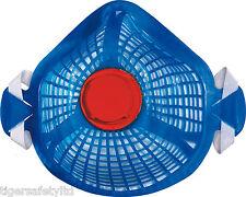 DELTA Plus Venitex m1300sm FFP3 P3 riutilizzabili spidermask MASCHERA ANTIPOLVERE Shell caso di 5