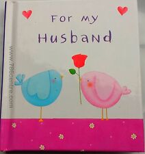For My Husband (Heartwarmers Ideal Gift Book) Hardback, Spouse, Partner, Hubby