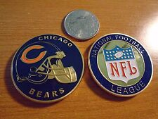 NFL Chicago BEARS Football Team Challenge Coin / Medal Comes w Hard Case