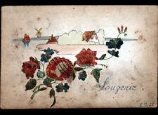 ROSES du SOUVENIR & PAYSAGE / Réalisé en TIMBRE POSTE en 1928