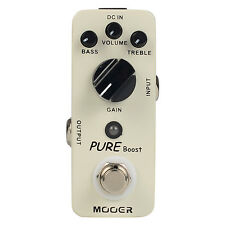 Mooer Pure Boost Micro Series Guitar Effect Pedal True bypass 20 dB Clean Boost