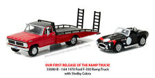 GREENLIGHT 1970 FORD F-350 RAMP TRUCK WITH SHELBY COBRA LIMITED PRE-ORDER