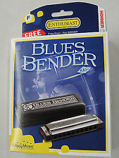NEW HOHNER BLUES BENDER PAC HARMONICA IN KEY OF F WITH FREE SHIPPING