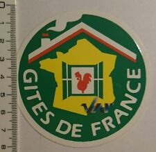Aufkleber/Sticker: Var Gites de France (090716161)