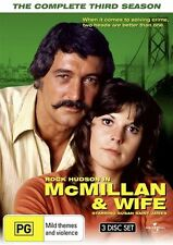 Mcmillan and Wife - The Complete Season 3 DVD NEW
