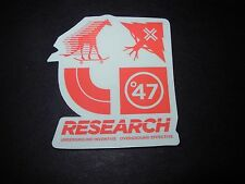 LRG Lifted Research Group Winter 2015 7 STICKER skate skateboards helmets decal