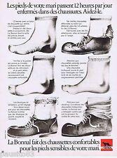 PUBLICITE ADVERTISING 095 1971 La Bonal fait des chaussettes confortables