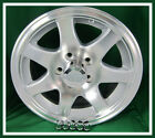 Aluminum Trailer Rim 15X6 Wheel 7 Spoke 5 on 4.5 Center Cap & Lugnuts