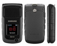 Brand New Samsung Rugby 2 II A847 3G GSM Rugged Flip CellPhone Black - UNLOCKED