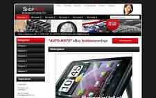 AUTOMOTO Ebay Auktionsvorlage Vorlage Design Shop Vorlage Template HTML Ebayshop
