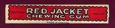 """Seldom Seen - """"Red Jacket"""" Chewing Gum Wrapper (with tattoo)"""