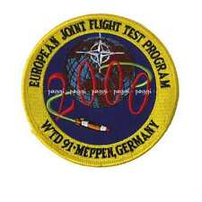Patch B38 European Joint Flight Test Program 2000 - WTD 91 Meppen Germany