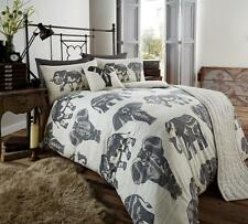 Luxury Tribal Elephant 5pc Bed in a Bag Bedding Duvet Quilt Cover Set in Double