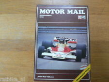 CHAMPION MOTOR MAIL 1-77,HUNT MCLAREN,BARRY SHEENE,RENA