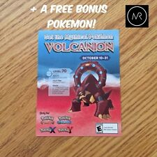 GameStop Event Mythical Volcanion Pokemon X Y Omega Ruby Alpha Sapphire 6IV Go