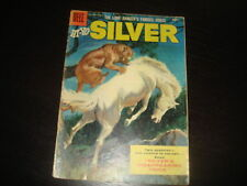 HI-YO, SILVER #17 Lone Ranger  Western Cowboy  Silver Age Dell Comics 1956 VG
