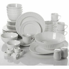 Dinnerware Set 46 Piece Plates Dishes Bowls Kitchen China Serveware Gibson Home