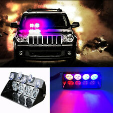 16 LED 16W Car Strobe Light Vehicle Dash Flashing Emergency Warning Windshield