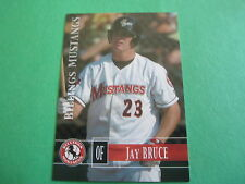 JAY BRUCE + TRAVIS WOOD - 2005 Billings Mustangs set