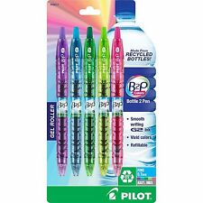 Pilot B2P Colors - Bottle to Pen - Retractable Gel Roller Pens Made from Recycle