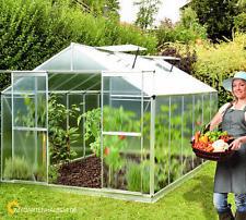 Treibhaus Gewächshaus Gartenhaus Alu Anzuchthaus Frühbeet Tomatenhaus Glashaus