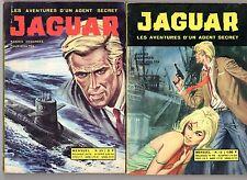 JAGUAR  lot de 2 numéros (12 et 23)  EDITIONS GEMINI ANNEES 1960 TRES RARE