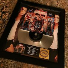Michael Jackson Dangerous Platinum Record Album Disc Music Award MTV Grammy RIAA