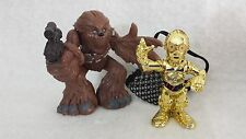 Star Wars Galactic Heroes C-3PO Disassembled & Chewbacca action figure set