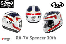 ORIGINAL ARAI RX-7V SPENCER 30TH FULLFACE HELMET SIZE M
