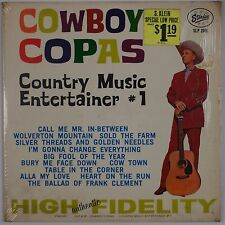 COWBOY COPAS: Country Music Entertainer USA Starday ORIG SHRINK Vinyl LP NM- Wax