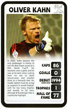Oliver Kahn South Africa 2010 World Cup Football Top Trumps Card (210)