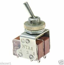 4x  Military Russian Mini Toggle Switch DTDT On-On  NEW