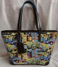 Disney Epcot 2016 Food And Wine Festival Dooney & Bourke Shopper Tote Purse Bag
