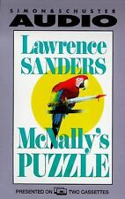 McNally's Puzzle by Lawrence Sanders-Audiobook-Cassette Tapes-Brand New